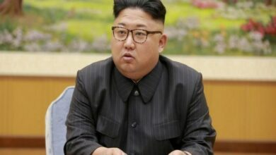 Photo of North Korean leader berates officials over typhoon prep
