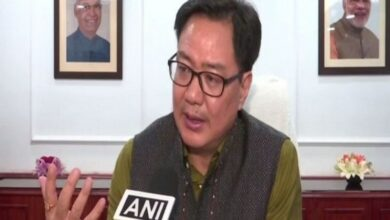 Photo of Exit polls are showing clear victory for BJP: Kiren Rijiju