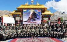 Army mountaineering team flagged off for Mt. Kun in J-K