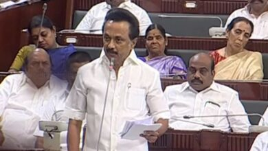 Photo of DMK stages walkout from Tamil Nadu Assembly on NEET