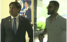 Kohli, MSK arrive for meeting to finalize team for WI tour