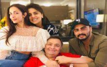 Malaika Arora, Arjun Kapoor visit Rishi Kapoor in NYC