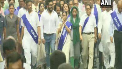Photo of Mamata Banerjee leads 'padayatra' to create awareness on water conservation