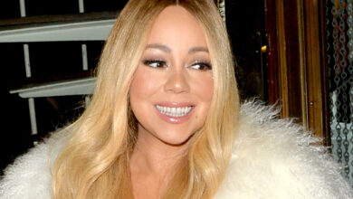 Photo of Mariah Carey mocks FaceApp by posting meme
