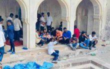 Masjid desecrated in Golconda during Bonal festival