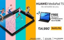 Huawei's tablet MediaPad T5 goes on sale in India, exclusively on Amazon