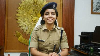 Photo of Young IPS officer brings rape accused to book