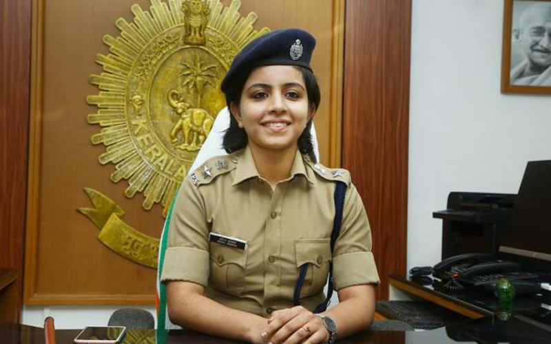 Young IPS officer brings rape accused to book
