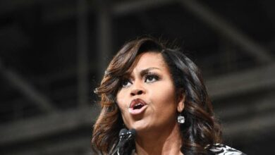 """Photo of """"Not My America Or Your America. Our America"""": Michelle to Trump"""