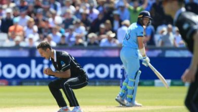 Photo of ICC World Cup: New Zealand pacers restrict England at 305/8