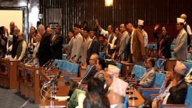 Photo of Nepal: Opposition obstructs house proceedings, demand probe in Sarlahi shootings