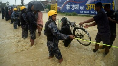 Photo of Nepal floods: 43 dead, over 24 missing, says police