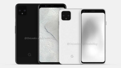Photo of Renders Reveal Design of Google Pixel 4
