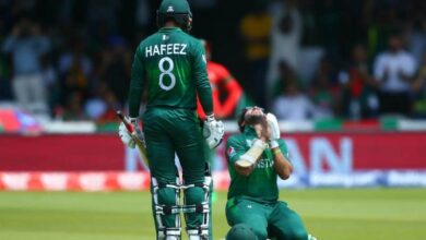 Photo of Pakistan post 315/9 against Bangladesh