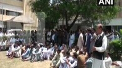 Photo of PoK govt employees stage protest against Pak discriminatory financial policies