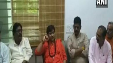 Photo of Pragya Thakur says 'Didn't become MP to clean drains, toilets'