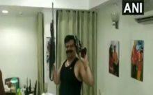 Caught on camera: BJP MLA dances to Bollywood song brandishing guns