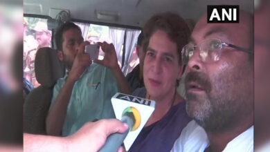 Photo of Sonbhadra firing case: It looks like I am arrested, Priyanka
