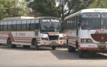 Employees of state-run buses in Punjab go on strike