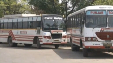 Photo of Employees of state-run buses in Punjab go on strike