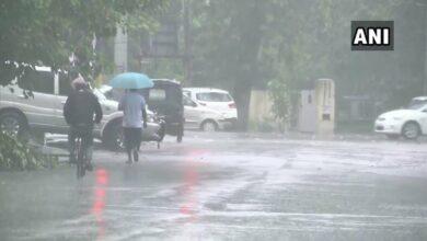 Photo of Mumbai, Punjab, Thane, WB witness heavy rainfall.
