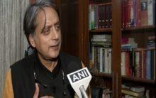 'Father born after child'; Shashi Tharoor mocks Trump's remark