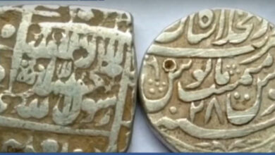 Photo of 698 kalima-engraved silver coins of Mughal-era recovered