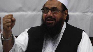 Photo of Hafiz Saeed's judicial custody extended