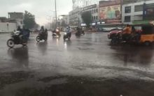 Many Parts of the city get heavy rain