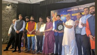 Photo of RSS affiliate awards members of FB Group for targeting anti-nationals after Pulwama attack