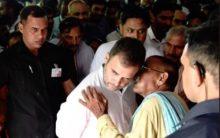 Rahul gandhi visits Amethi post loss in Lok Sabha polls