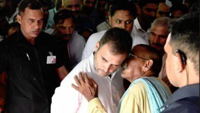Photo of Rahul gandhi visits Amethi post loss in Lok Sabha polls
