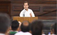 Rahul take up farmers plight in Lok Sabha, Rajnath shifts blame on Congress rule