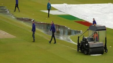 Photo of ICC World Cup: New Zealand to resume at 211/5 against India on Wednesday