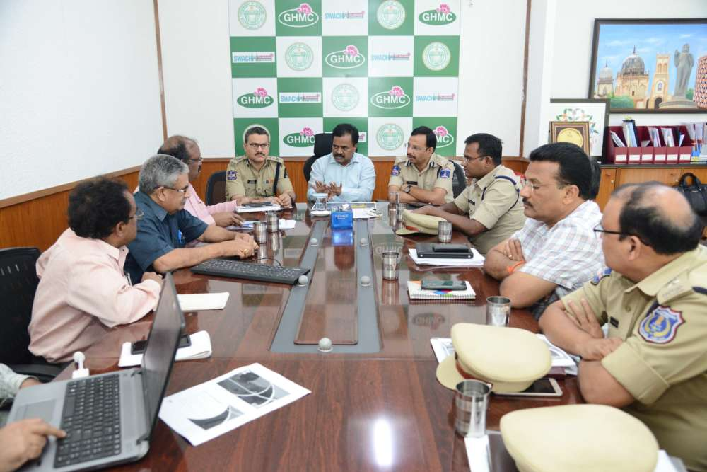 GHMC and traffic officials to visit other states