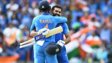 Photo of ICC World Cup: Rohit Sharma, Rahul shine as India beat Sri Lanka by 7 wickets