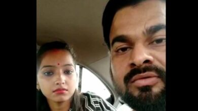Photo of BJP MLA's daughter, husband roughed up outside court
