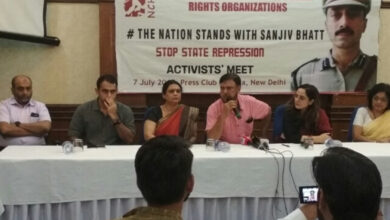 Photo of Sanjiv is being targeted because he spoke the truth before Nanavati Commission: Shweta Bhatt