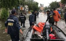 Indian Navy joins rescue operations in Mumbai as heavy rain kills several people