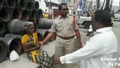Photo of Cops shift 90 beggars to Ananda Ashramam