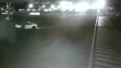 Photo of Sports car stunts next to Rashtrapati Bhavan; police hunt for driver