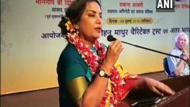 Photo of Anyone who criticises govt is branded 'anti-national': Shabana Azmi