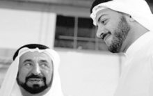 In emotional tribute post, Sharjah Ruler shares photos of late son