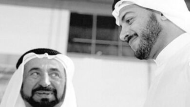 Photo of In emotional tribute post, Sharjah Ruler shares photos of late son