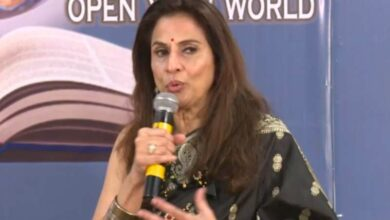 Photo of Freedom of Press: It is a myth, claims Shobhaa De