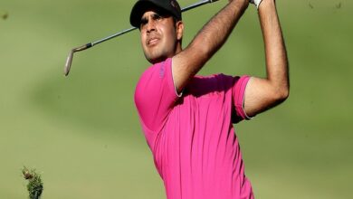 Photo of Sharma makes it count on Day 3 of Scottish Open golf