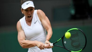 Photo of Simona Halep becomes first semifinalist at Wimbledon