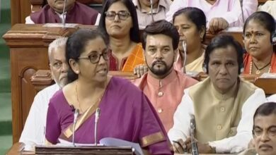 Photo of Budget 2019-20: 'Har Ghar Jal' for all rural houses by 2024, says Sitharaman