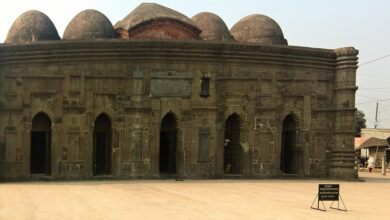 Photo of On Indo-Bangla border, BSF guard Sona Mosque