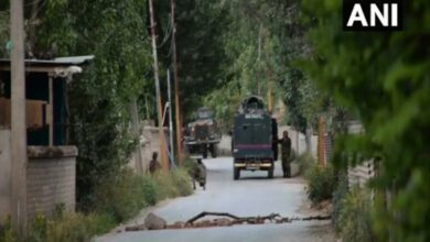 Photo of Exchange of fire between terrorists, security forces in Sopore
